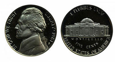 1981 S GEM BU PROOF JEFFERSON NICKEL 5 Cent BRILLIANT UNCIRCULATED US COIN PF