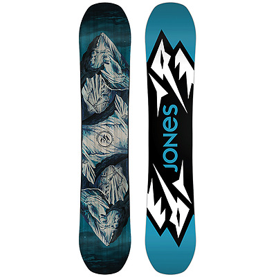 Jones Mountain Twin Mens 2018 Snowboard Ski Snow Free Delivery Australia
