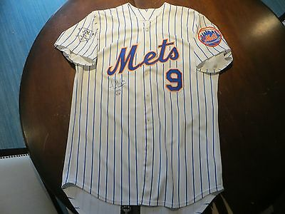New York Mets Game Used Jersey Autographed Todd Hundley 1996 All Star Signed