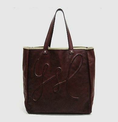 1791e43f7953  945 YVES SAINT Laurent Brown Leather Charms Tote Bag -  550.00 ...