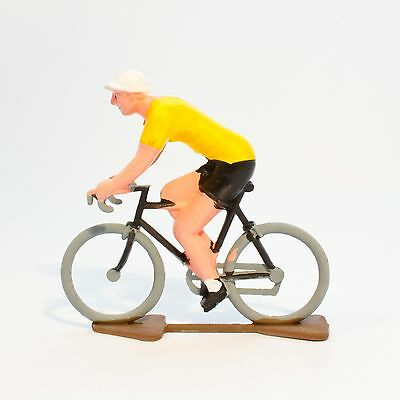 TDF Yellow Jersey Cycling Figurine - Hand painted in France