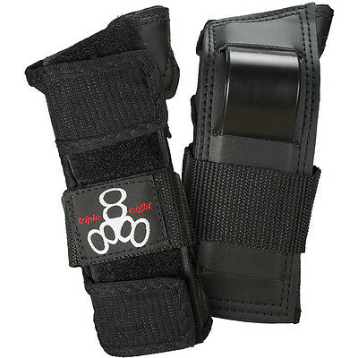 Triple Eight Wristsaver Black Skateboard Wrist Guards Pads Australia