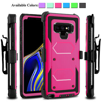 For Samsung Galaxy Note 8/Note 9/S8/S10+ Case Hybrid Heavy Duty Hard Armor Cover