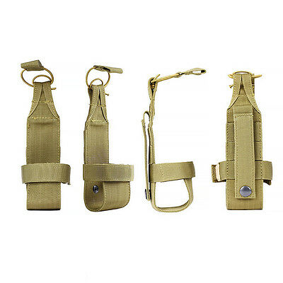 Hiking Camping Molle Water Bottle Holder Belt Carrier Pouch Nylon Bag Tactical