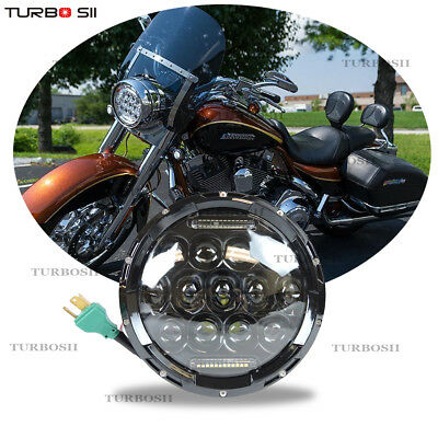 Daymaker Harley Davidson 7 Inch LED Headlight Projector for Touring Electra