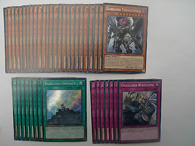 Darklord Deck * Ready To Play * Yu-gi-oh