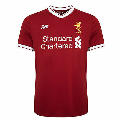 Liverpool FC  LFC Mens Replica Home Shirt 17/18 Official