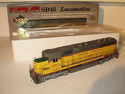 Proto 45 2000 series Co-Co UP Diesel Loco. MIB.  2 rail DC analogue. Boxed
