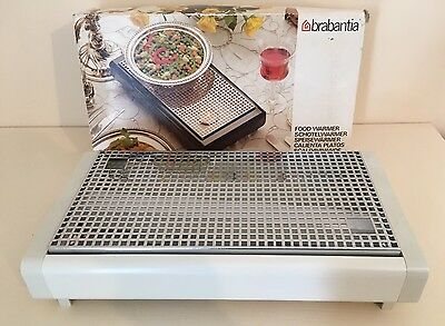 Brabantia Food Warmer White Brand New Candles Tealight Snuffers Dinner Table
