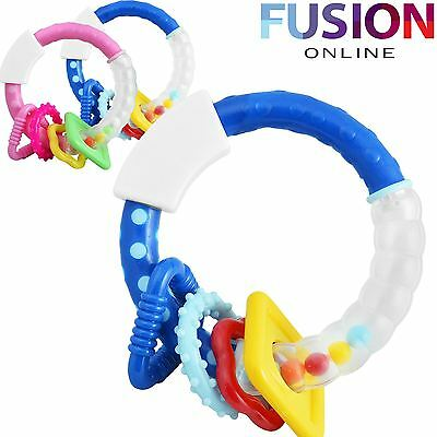 Baby Toy Rattle Bfa Rattle Colourful Musical Sounds Rattling Child Kid Infant