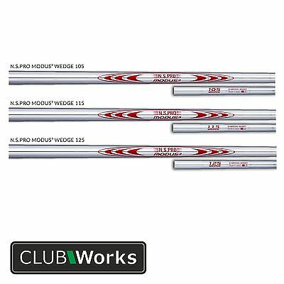 "Nippon Modus 3 Wedge Shafts - .355"" - 105/115/125  Plus ferrule from 12 sizes"