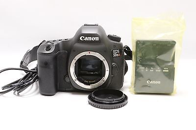 Canon EOS 5DS R 50.6MP Digital SLR Camera - Black (Body Only)