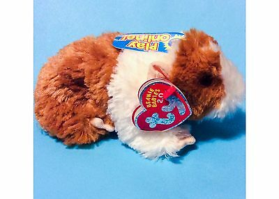 Ty 2.0 Fluffball Guinea Pig Beanie Baby Plush Collectible W/ Code