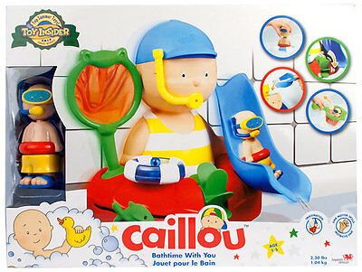 Caillou BATHTIME WITH YOU PLAYSET