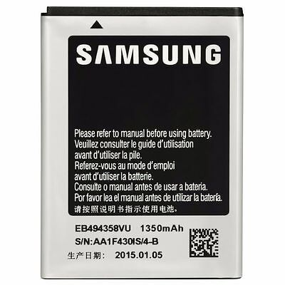 New OEM EB494358VU 1350mAh Battery for Samsung Galaxy Ace GT-S5830 S5830 S5660