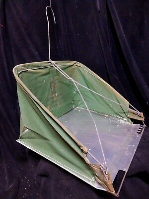 1940s / 50's CANVAS KID * NOS * Reel Mower * CANVAS GRASS CLIPPINGS CATCHER