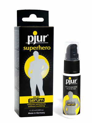 Pjur Delay Serum Enhancer Superhero Concentrated 20ml