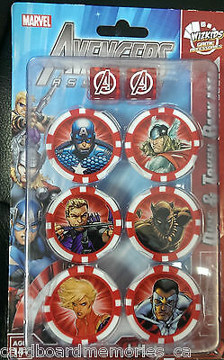 HeroClix - Marvel Avengers Assemble Dice and Token Pack