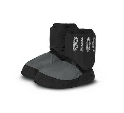 Bloch  Warm Up Boots NWT Two Tone Grey/Black IM009 Adult Large