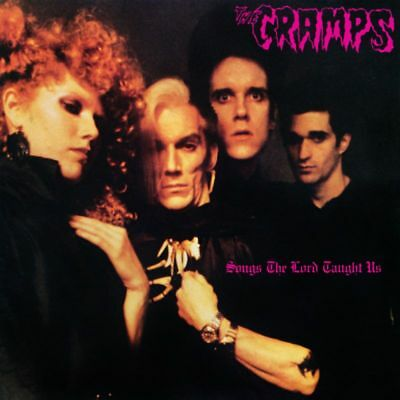LP - The Cramps - Songs The Lord Taught Us - Re, Psychobilly, Rockabilly, Punk