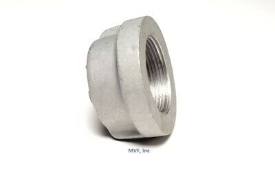 "1"" NPT Threaded Pipe Cap Aluminum 356-F Sch 40 Pipe Fitting A060641"