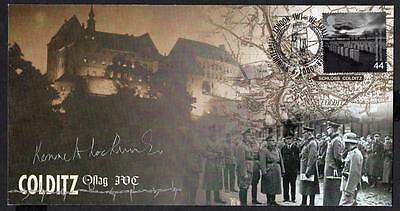 Colditz 2000 FDC Signed by Kenneth Lockwood Limited Edition 624/1250