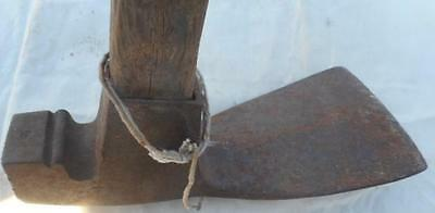Drbarton Antique Grubbing Hoe With Handle  Primitive Barn Fresh Tool Specialized