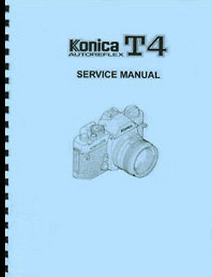 Konica Autoreflex T4 Service & Repair Manual
