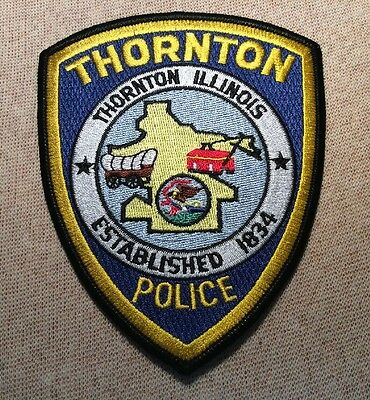 IL Thornton Illinois Police Patch