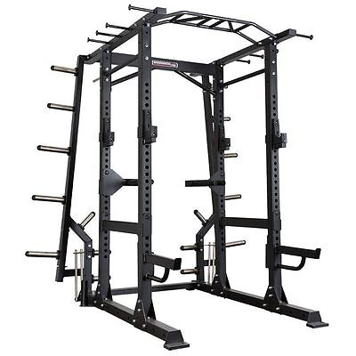 BARBARIAN PRO Functional Commercial Power Rack BB-9031 Cage Squat