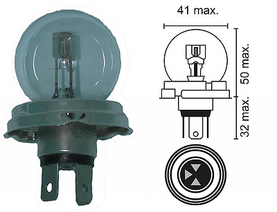 Greenstar 5049 Decorative Light 12 V 45/50 W Links with Asymmetrical 280/1372