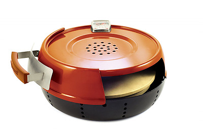 Pizzacraft PC0601 Pizzeria Pronto Indoor Stove Pizza Oven - Red