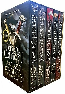 The Last Kingdom Series Bernard Cornwell 5 Books Collection Box Set Warrior Pack