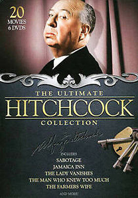 The Ultimate Hitchcock Collection (DVD, 2010, 6-Disc Set) NEW / SEALED