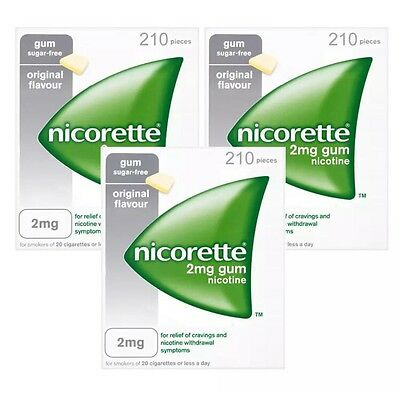 Nicorette 4mg Original Gum - 630 Pieces-- Fast Delivery--