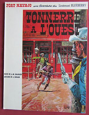 Blueberry  Bd Eo Brochee   N°2  Tonnerre A L'ouest  Giraud  Charlier