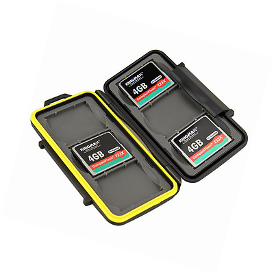 JJC Water Resistant Memory Card Case ()–Pack of 6x Comp