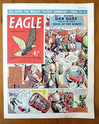 """A June 1957 Edition Of The """"Eagle"""" Comic"""