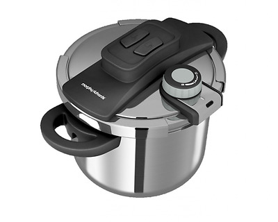 Morphy Richards Pressure Cooker, 6 L - Stainless Steel