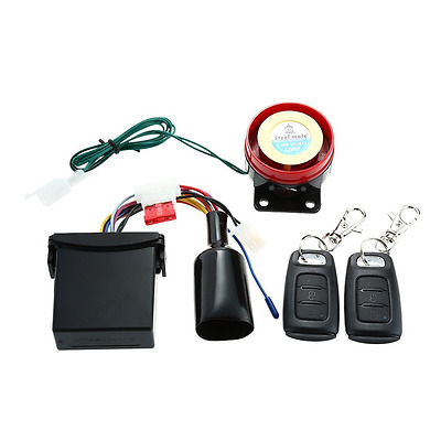 Steelmate Security Alarm System Autocycle 886E 1 Way Motorcycle Alarm System Wat