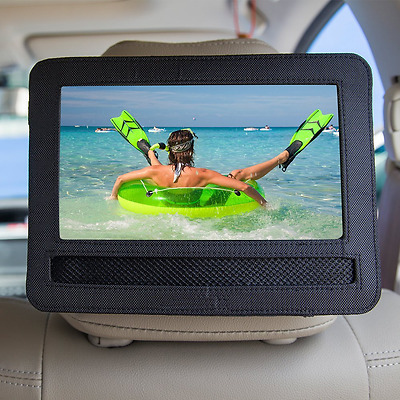 """Gamut-Tek 7-7.5 """"car headrest mount housing for rotary and portable DVD players"""