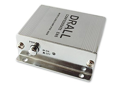 400W Mini Digital Power Amplifier Amp Class D (ideal for Apartments, Moto scoote