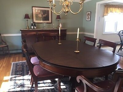 Antique Solid Mahogany dining room