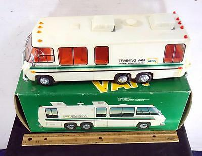VINTAGE 1978 - 1980 Hess Training Van with Box Amerada