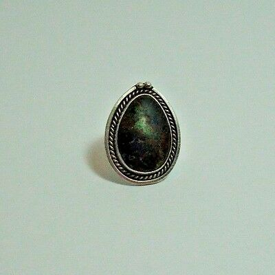 Cripple Creek Colorado Turquoise Ring Native American Size 6 1/4 women's ring