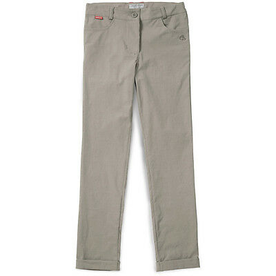 Craghoppers Girls NosiLife Callie Travel Walking Trousers