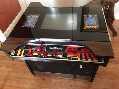 ORIGINAL 1980 Williams Defender Cocktail Arcade RARE CLASSIC