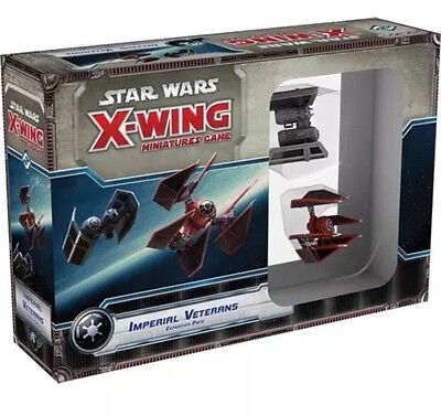 Star Wars - X-Wing - Imperial Veterans Brand New! FREE EXPRESS POST SAME DAY
