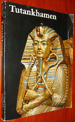 Tutankhamen Life & Death of a Pharaoh by Desroches-Noblecourt Color Plates 1976