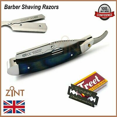Barber Salon Razor Shaving Shavette Razor Skin Care Mens Grooming Safety Blades